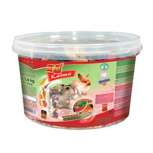 Hrana cu fructe si legume pentru hamsteri si iepuri 3L