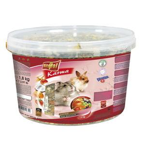 Hrana cu fructe pentru hamsteri si iepuri 1.8 kg
