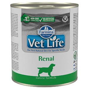 Vet Life Natural Diet Dog Renal conserva 300 gr