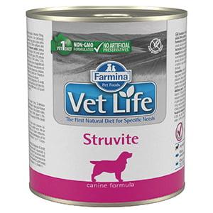 Vet Life Natural Diet Dog Struvite conserva 300 gr