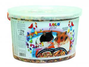 Hrana 2 in 1 pentru hamsteri - galeata de 3 L
