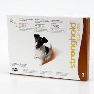 Stronghold 60 mg 5-10 kg x 3 pipete