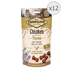Carnilove Cat Semi Moist Snack Chicken with Thyme 12 x 50 g