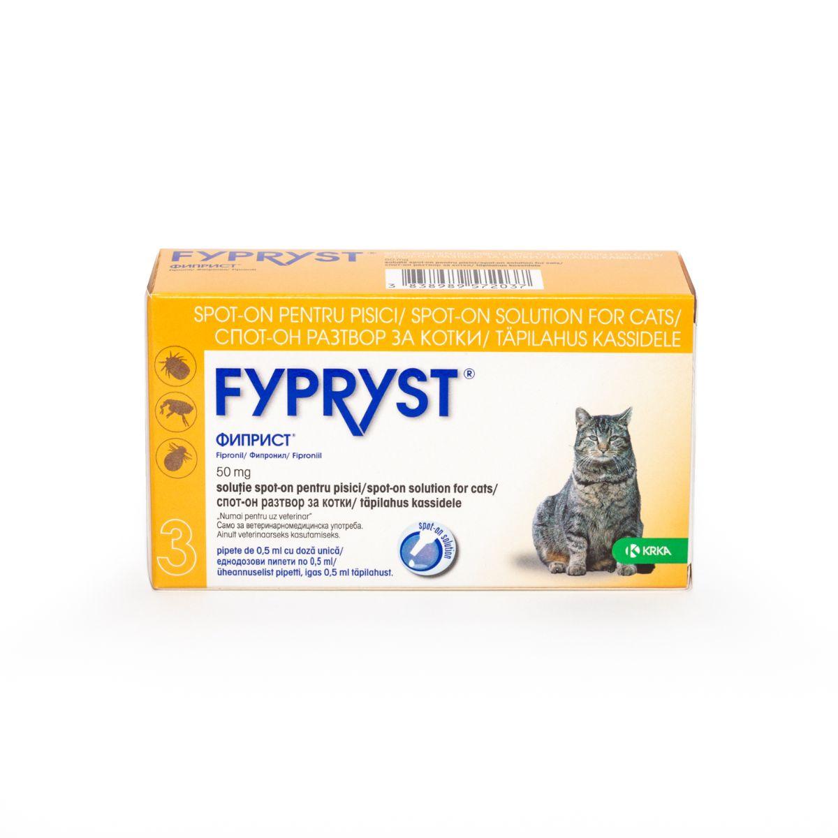Fypryst Cat  x 3pip