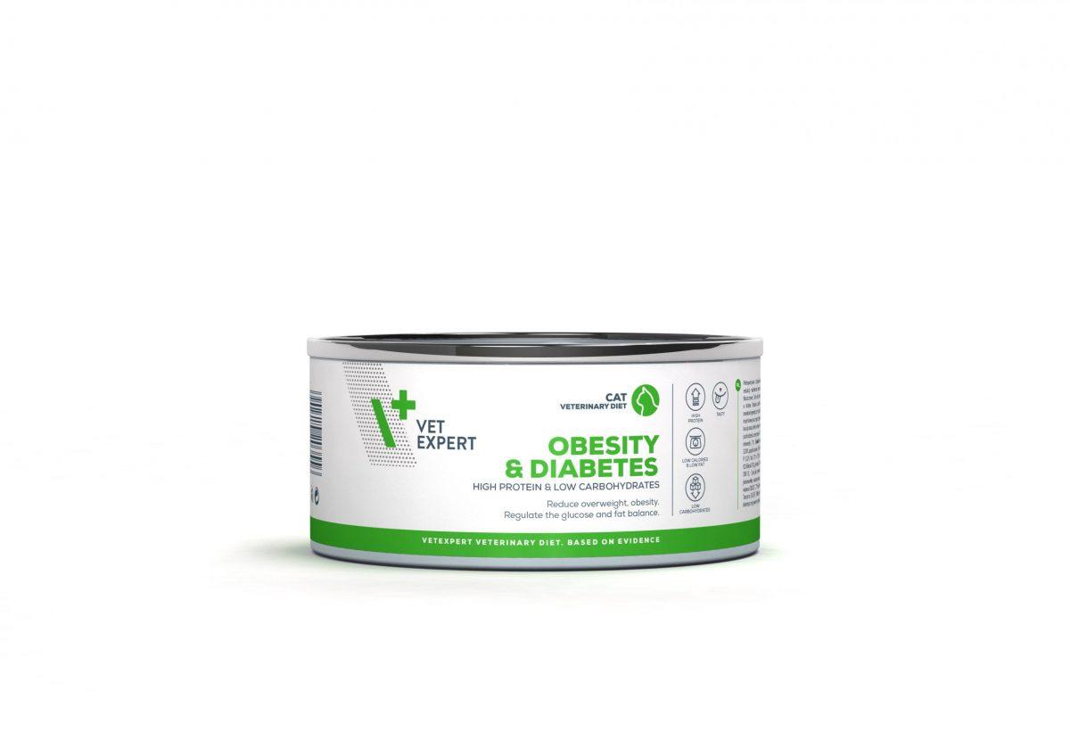 4T Dieta Veterinara pisici Obesity& Diabetes