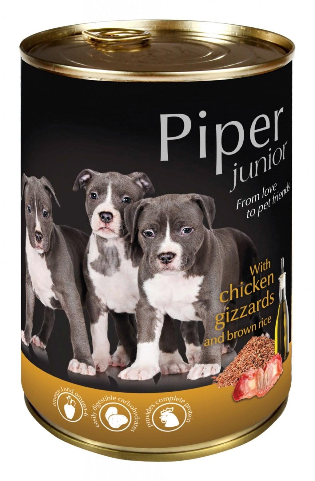 Hrana umeda Piper Junior
