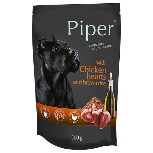 Hrana umeda pentru caini Piper Adult