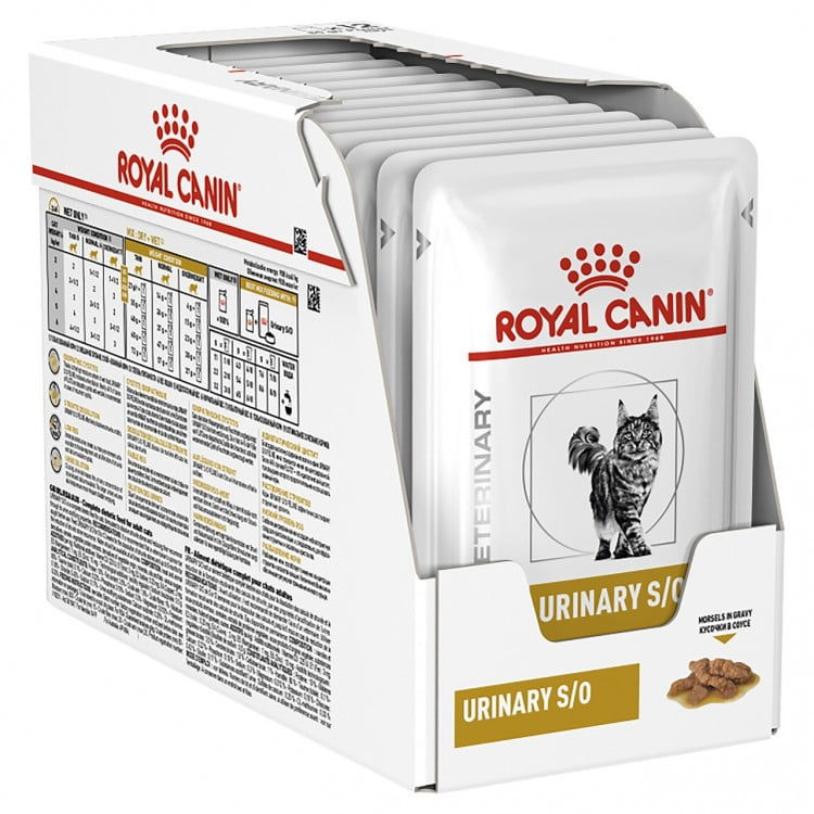Royal Canin Wet Urinary SO Cat, 12 plicuri x 85 g